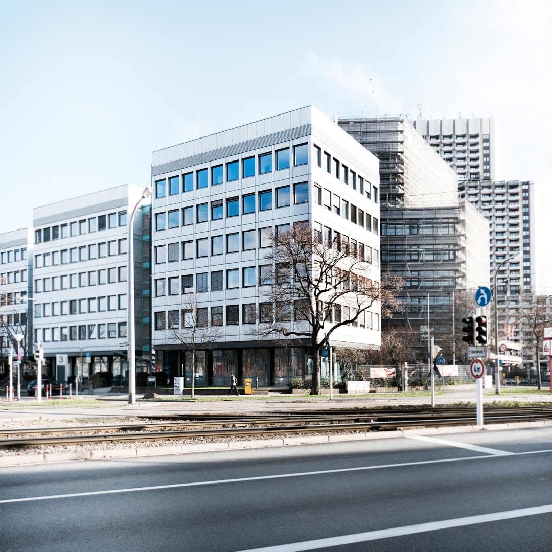 Bild des Gewerkschaftshauses in Mannheim