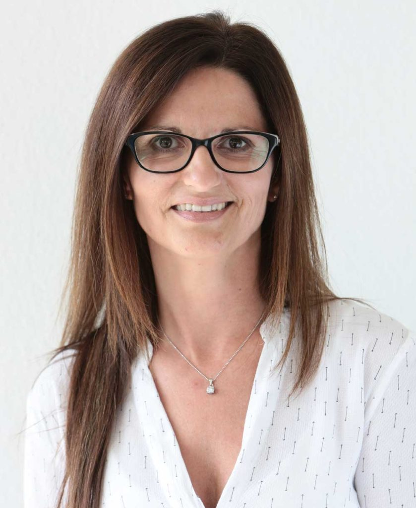 Portrait Praxismanagerin Silke Beisel